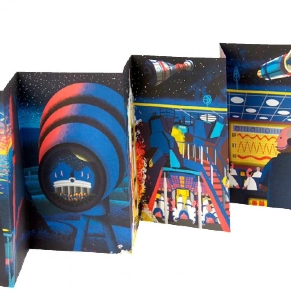 Trip livro ilustrado que vira poster ou almanaque em forma de livreto uso de ilustraes sofisticadas e infogrficos primorosos essa a frmula que a editora fandeluxe Images