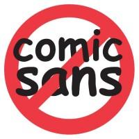 O movimento contra a Comic Sans