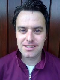 O escritor Ben Myers