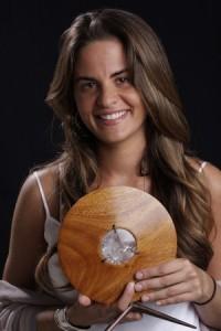 Myrna Domit, vencedora da categoria Trabalho