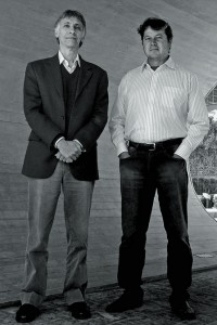 Luiz Fernando e Guido Lemos