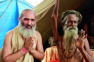 Encontro com sadhu Amar Bhati em Haridwar