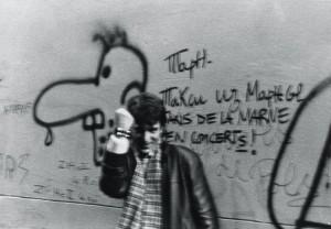 Angeli encontra Bob Cuspe em Paris, 1986