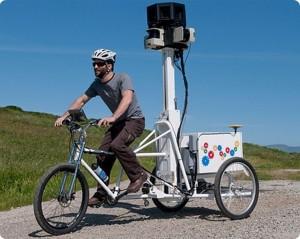 Trike do Street View