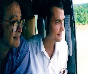 Com o então ministro da Justiça José Carlos Dias, de quem foi assessor