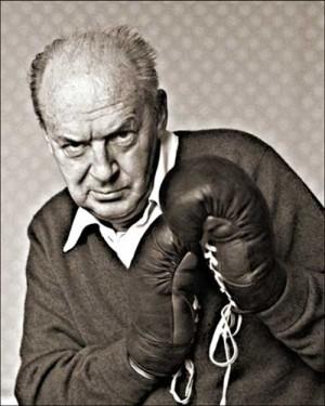 Vladimir Nabokov pronto para a briga
