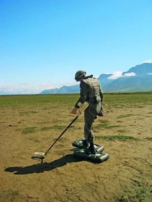 Treinamento para desarmar bombas no Afeganistão