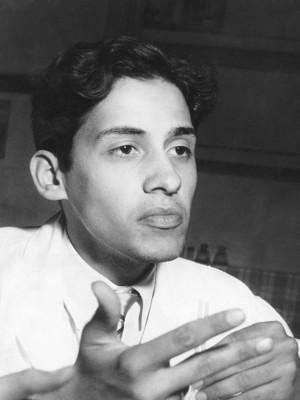 No dia em que foi eleito representante dos alunos da USP junto ao Conselho Universitário, em 1957.