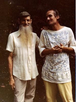 Com Sebastião, seu mentor