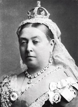 A rainha Vitória, cujo médico prescrevia a planta em fins do século 19
