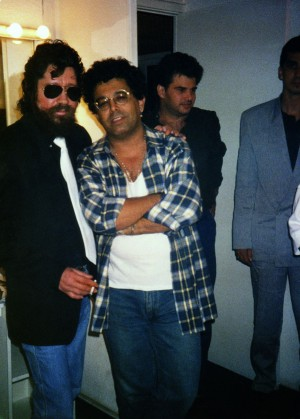 Raulzito, em 1988, um ano antes da morte do amigo