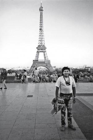 durante visita a Paris