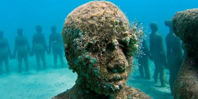 Jason de Caires Taylor e sua arte subaquática