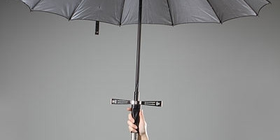 Conheça o Excalibrella (Excalibur + Umbrella)