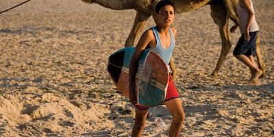 Surf na faixa de Gaza