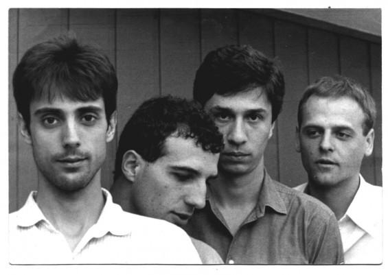Os paulistanos do Fellini, em foto de 1984