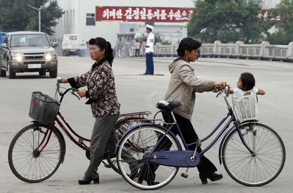 Uso de bicicletas é liberado para mulheres na Coreia do Norte