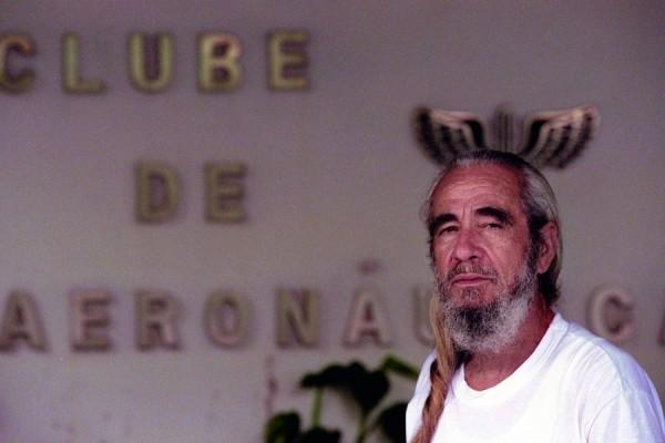 Geraldo Vandré em 1999, no Hotel da Aeronáutica, no Rio