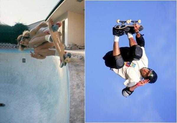 Os Tonys: Alva (esq) e Hawk (dir), duas lendas que mudaram para sempre o mundo do skate