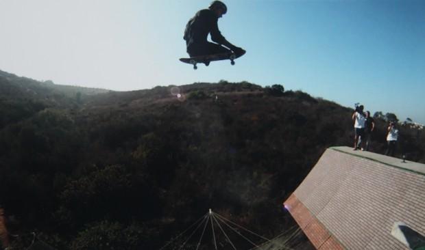 Ítalo voando na megarrampa de Bob