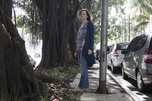 Rua Estela, perto do nº 600, Vila Mariana: Letícia Sabino é uma das idealizadoras da Associação pela Mobilidade a Pé em São Paulo