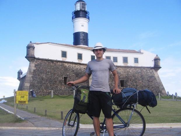 Felipe no Farol da Barra - BA
