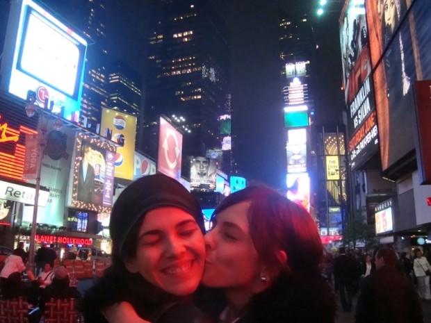 As irmãs em Nova York