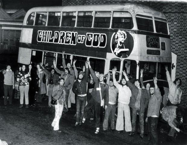 Os hippies recém-convertidos dos primeiros dias do Meninos de Deus