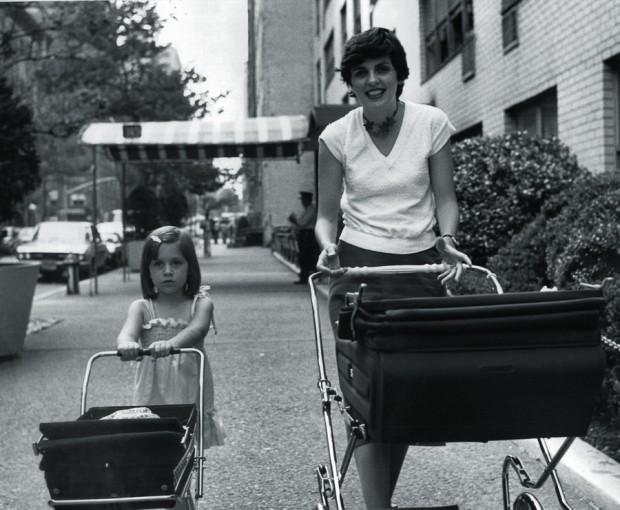 Levando as filhas para passear no Central Park