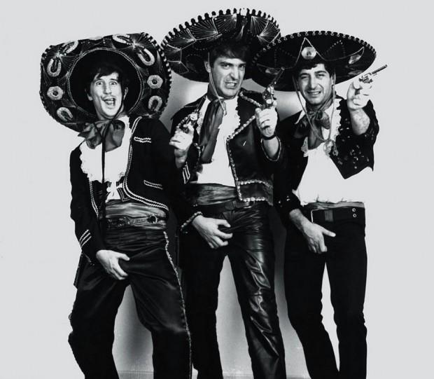Los 3 Amigos em 1987: Laerte, Angeli e Glauco