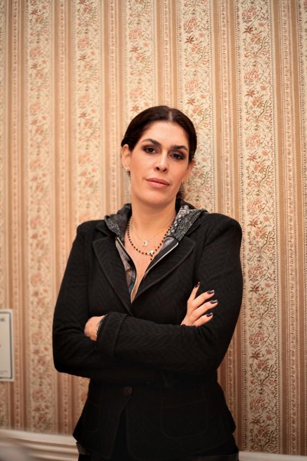 A empresária Paula Lavigne