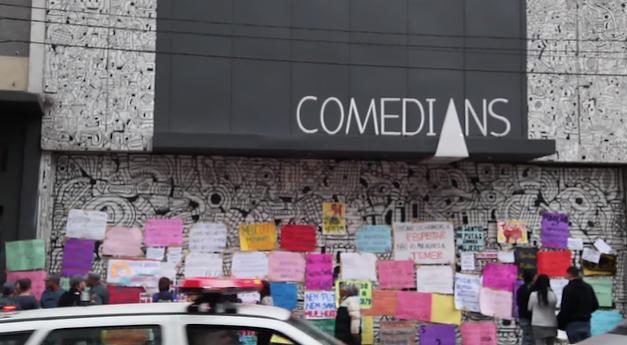 Marcha das Vadis terminou em frente ao Comedians