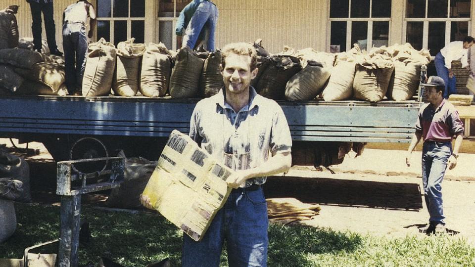 Em 1994, durante uma apreensão histórica de cocaína da polícia federal, após dias de perseguição