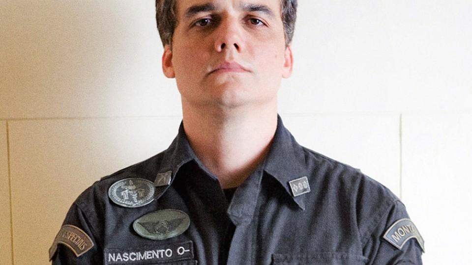 O agora coronel Nascimento, no segundo Tropa