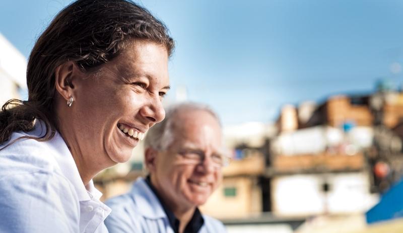 Ana Moser e Sérgio Petrilli