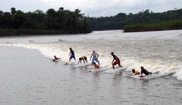Surf ou navegação?