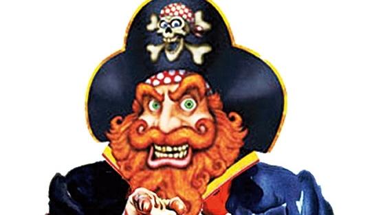 Piratas à vista