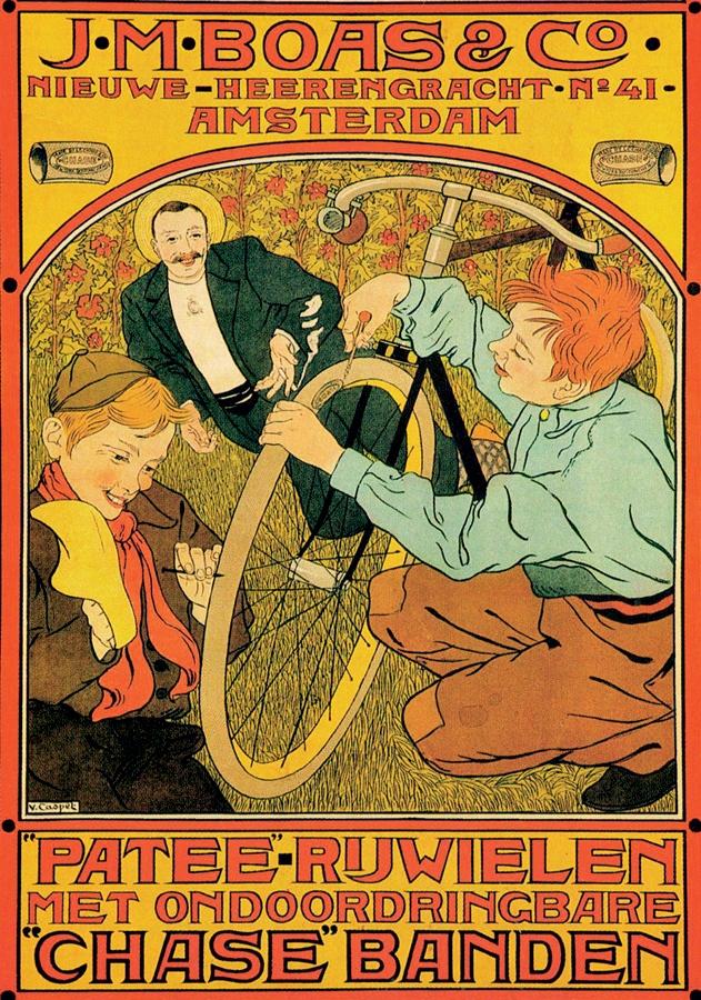 O ciclista é o pato
