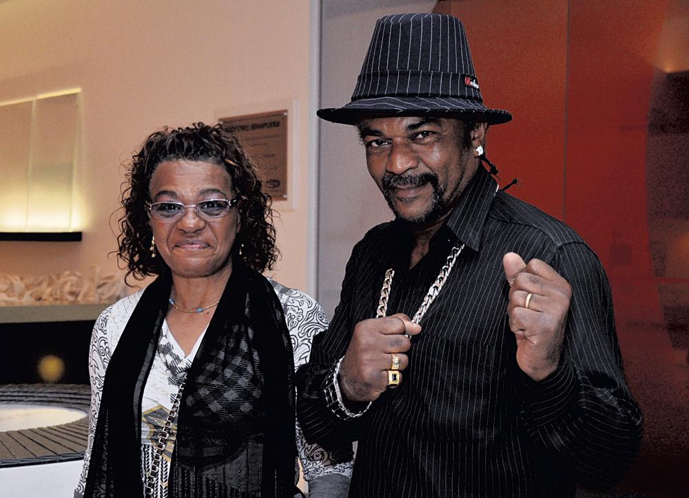Nilson Garrido e Cora Batista