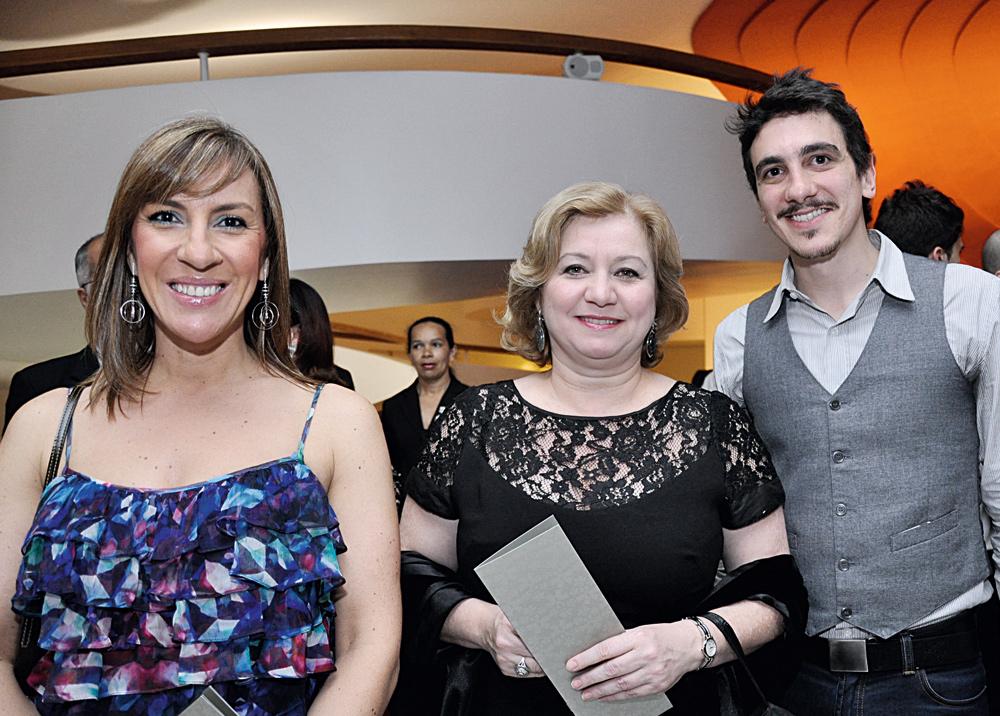 Meg Ribeiro, Malu Nunes e Renato Amendola