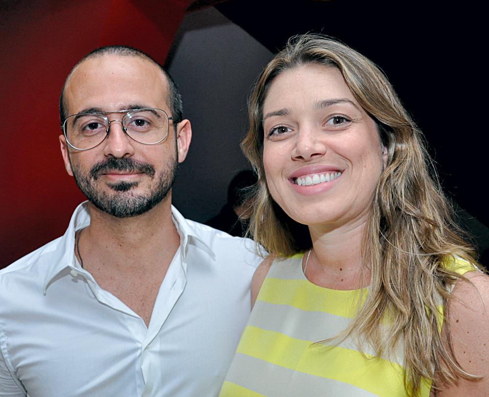 Eduardo Tracanella e Luciana Leal