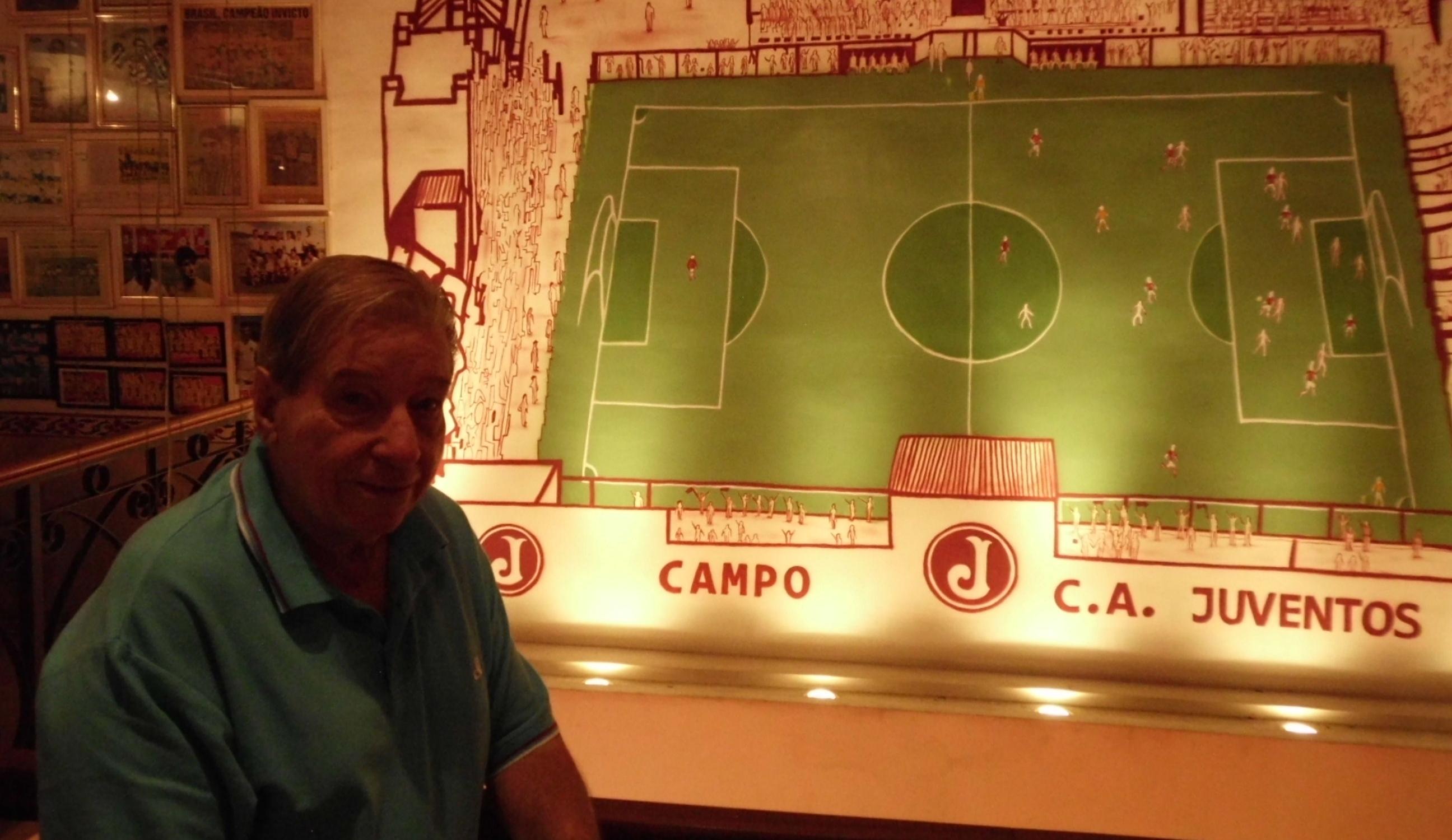 Elídio, a memória do futebol