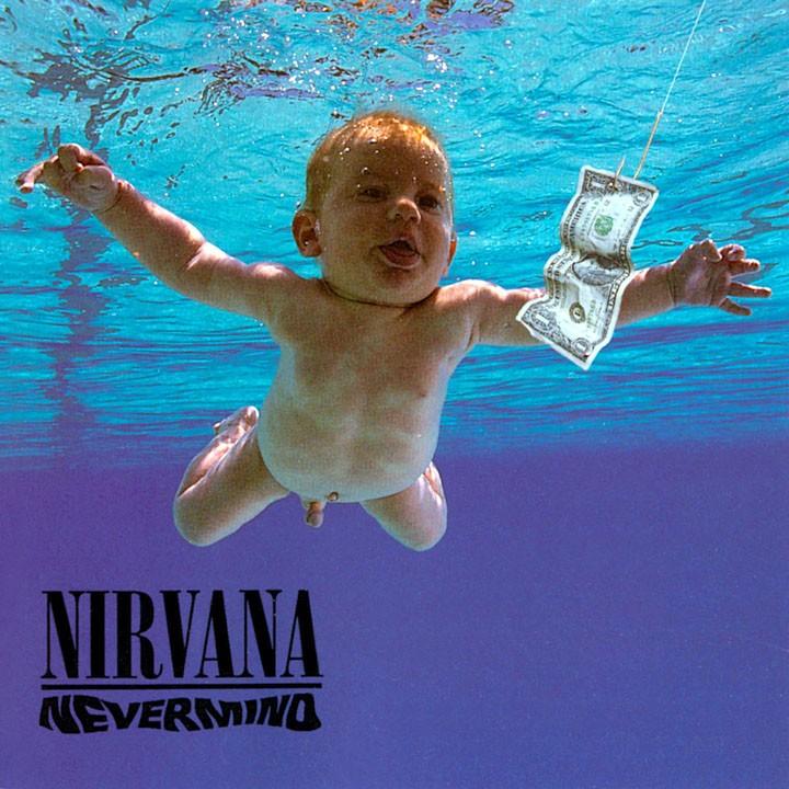 Nirvana - Nevermind: todo mundo já viu o pênis do jovem Spencer Elden, que posteriormente posou novamente para reproduzir a foto em diversas ocasiões. A mais famosa foi para a Revista Rolling Stone em 2009, em celebração ao aniversário de 18 anos do álbum