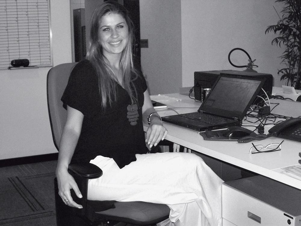 No dia a dia: Patrícia Aloi Moreira