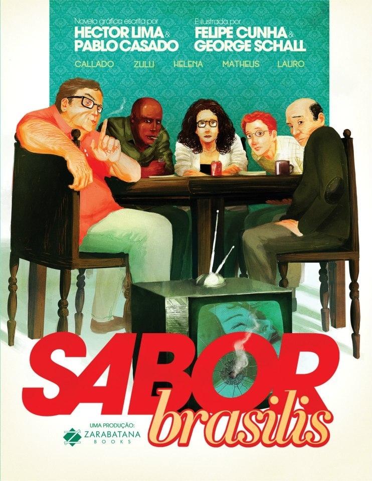 A capa de Sabor Brasilis