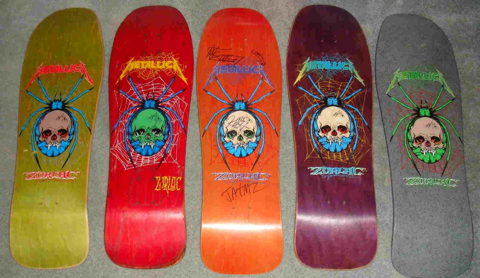 Skate metal