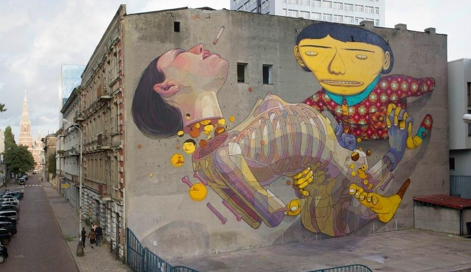 Os incríveis grafites de ARYZ