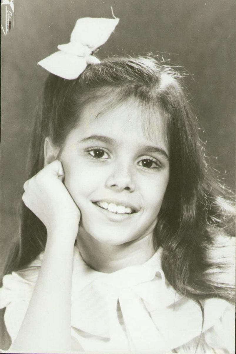 """No primeiro book, aos 9 anos: """"Não tenho lembranças da minha vida sem ser atriz"""""""