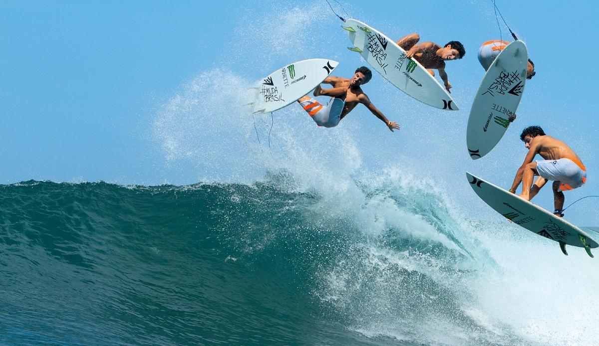 Voo Livre: surf contrariando a física