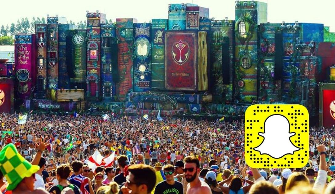 Acompanhe o Tomorrowland Brasil com a Trip pelo Snapchat